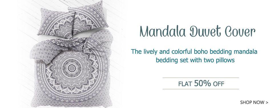 mandala duvet covers